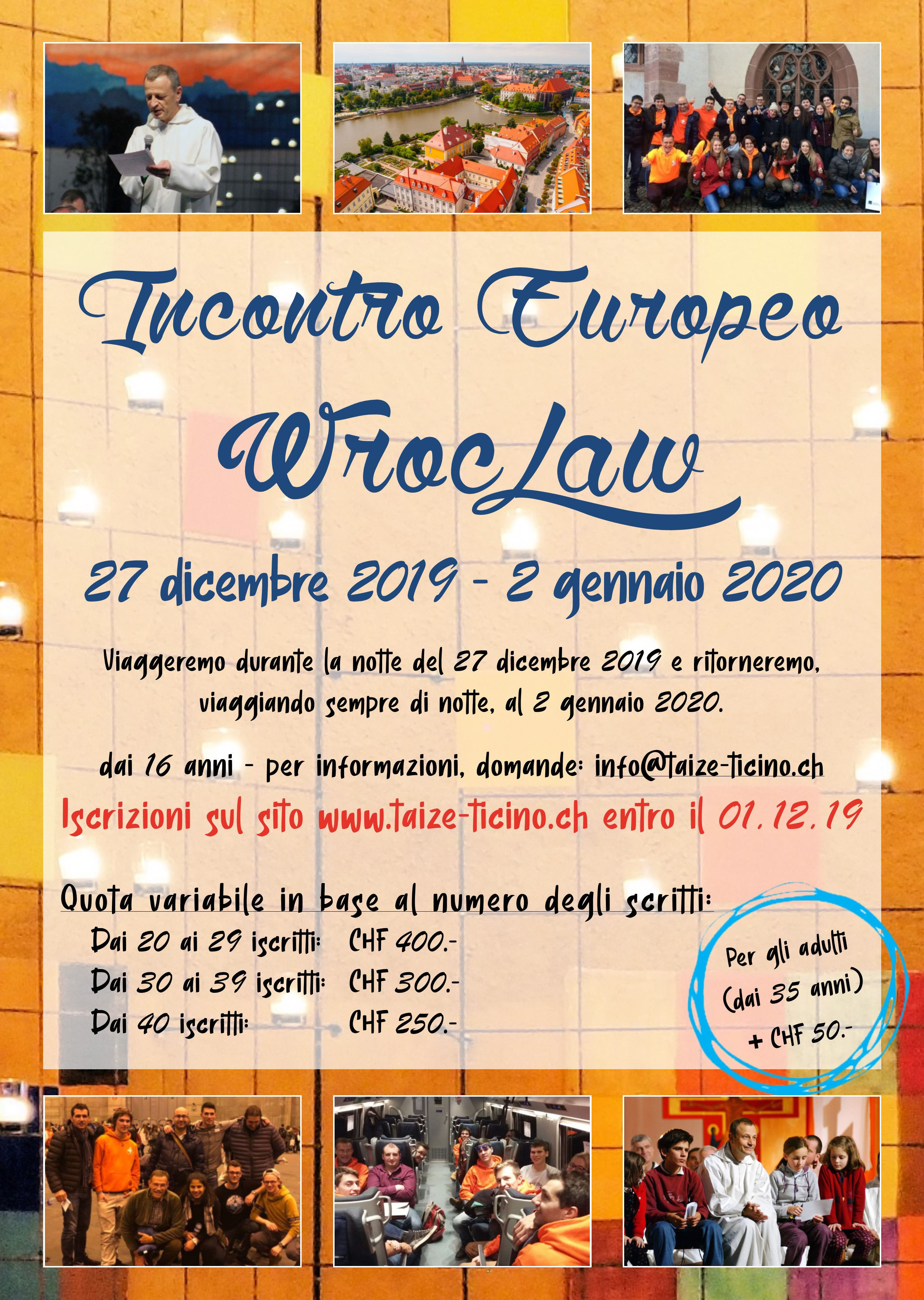 Incontro Europeo - Wroclaw 2019